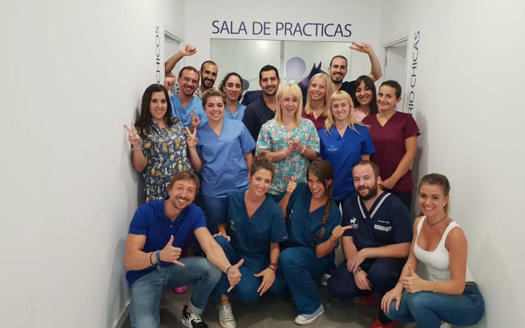 Veterinarios de toda España asisten al taller de cirugía básica dirigido por Jorge Llinás